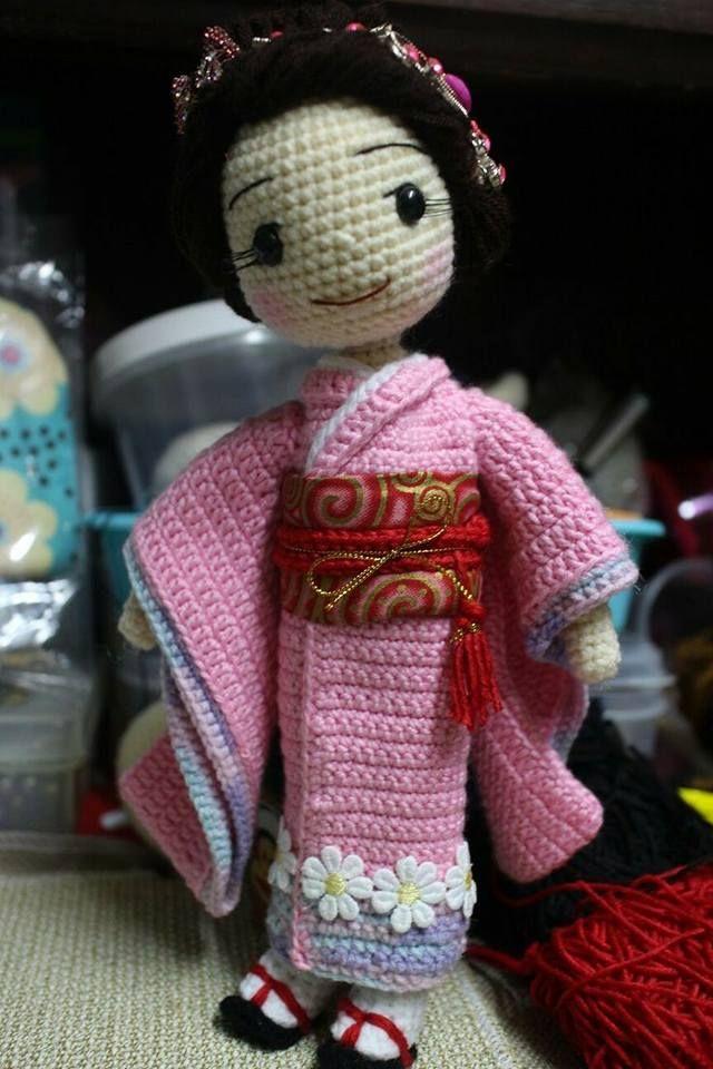 muneca oriental crochet-otakulandia.es (18) | AMIGURUMI FASHION ...