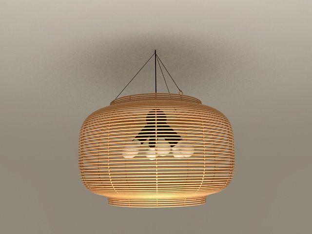 Rattan pendant light fixtures 3d model lighting pinterest rattan pendant light fixtures 3d model mozeypictures Images