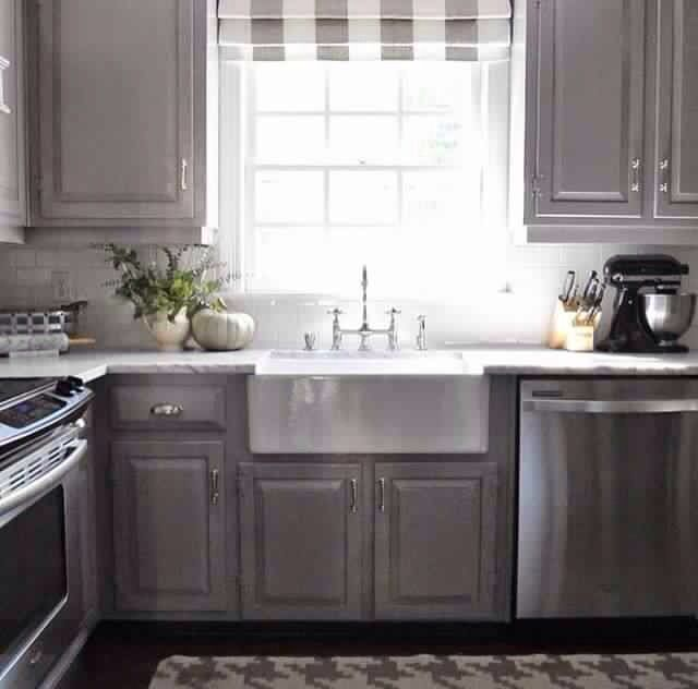 Covering Glass Kitchen Cabinets: Cabinet Color - Winter Gates By Benjamin Moore