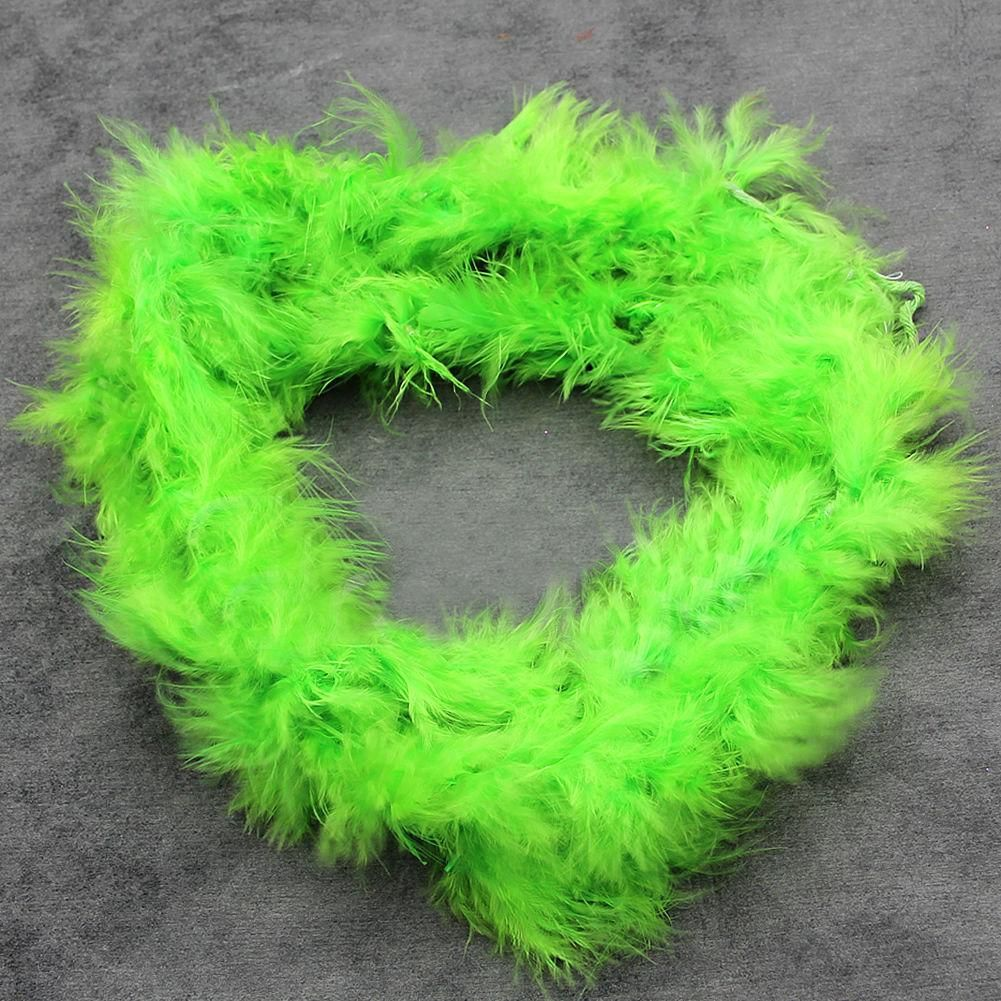 Photo of 2M Feather Boa Strip Fluffy Craft Costume Hen Night Dressup Wedding Fancy Party – Green