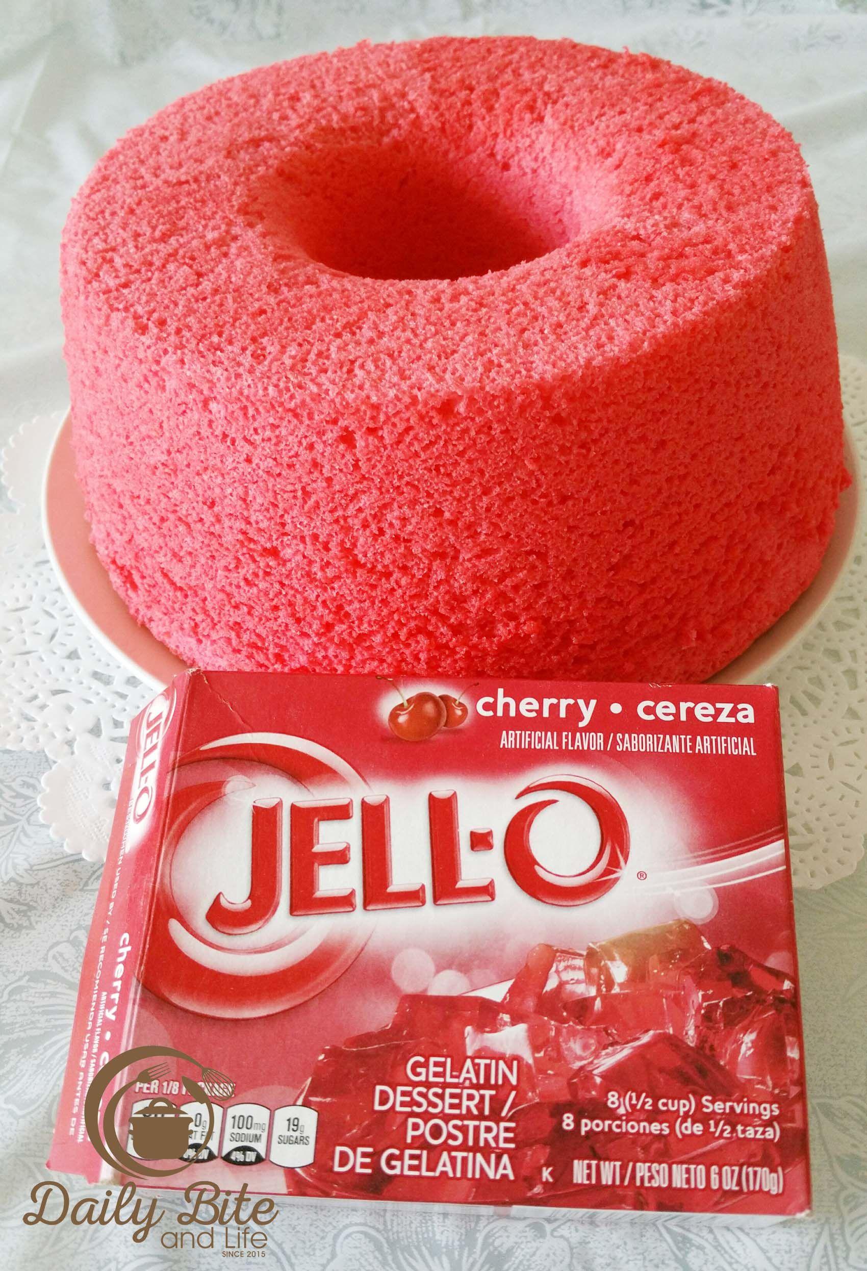 Beauty Michelle Marie JELLO Chiffon Cake is part of Jello cake -