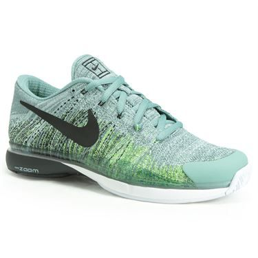 338d11a0eb4d5 The all new Nike Zoom Vapor 9.5 Flyknit men's tennis shoe has a dynamic fit  system