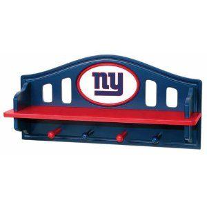 ad6d9a52 New York Giants NY Kids Wall Shelf Coat Rack | It's NY Football ...