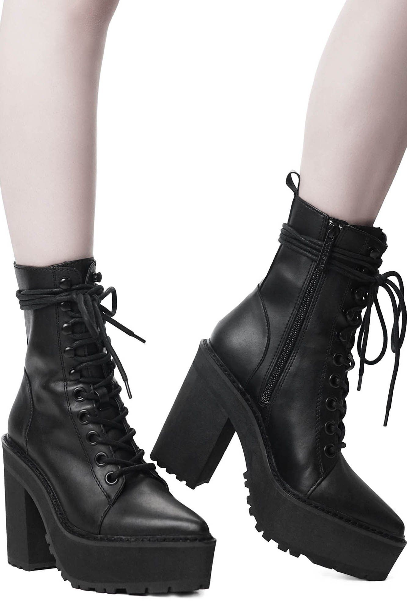 14eb725a1fc0 Salem City Boots. We are the children of the witches before us.
