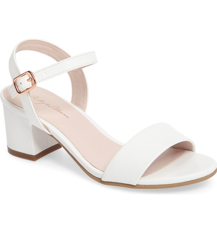 Ruby \u0026 Bloom Danni Block Heel Sandal