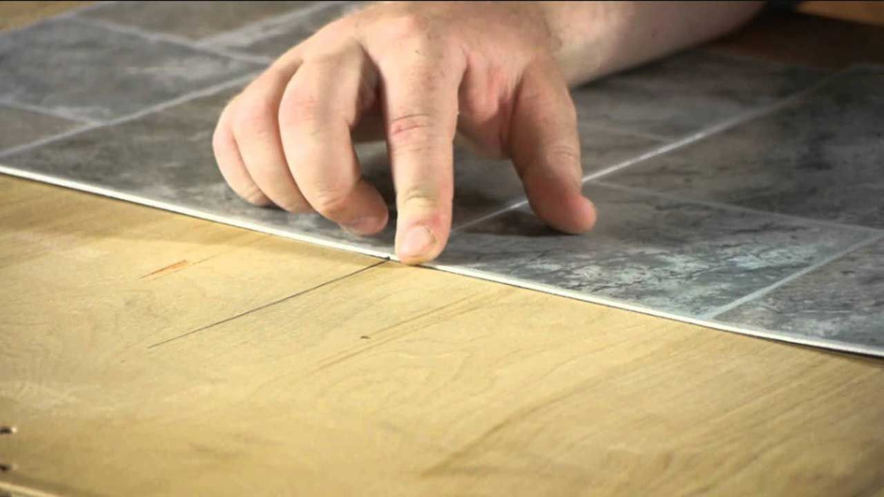 Resilient Flooring Its Types And Methods Of Construction Linoleum Flooring Resilient Flooring Square Tile