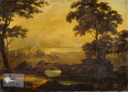 Castle in a Landscape | Painting, Landscape, Castle