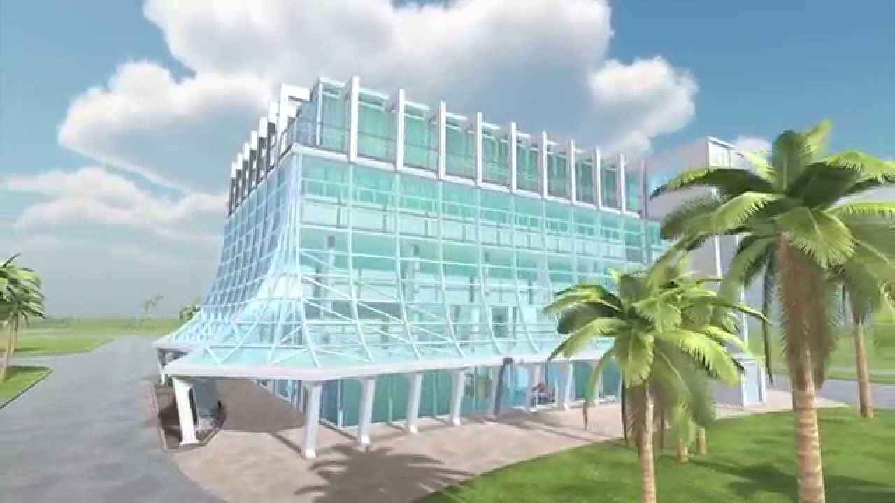 Cocoa Beach Glass Bank In 3d With Images Cocoa Beach Beach