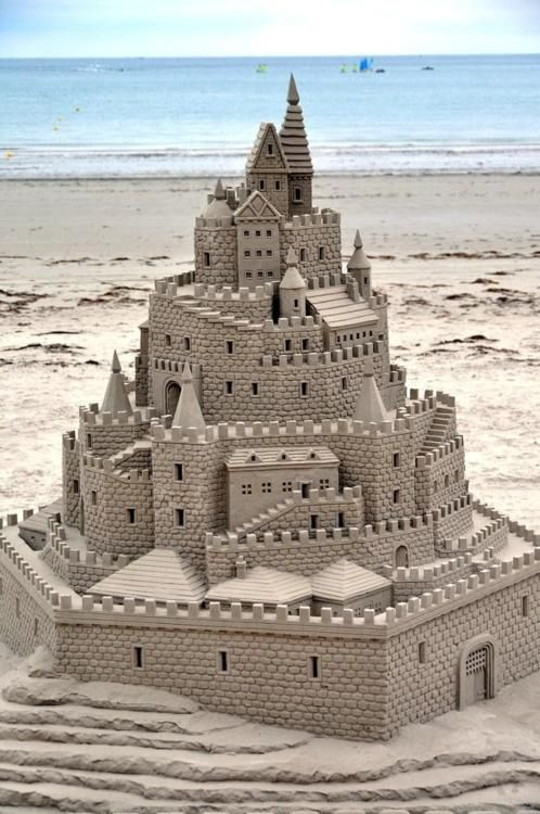 The Detailing On Masonry Of This Sand Castle Is Best I