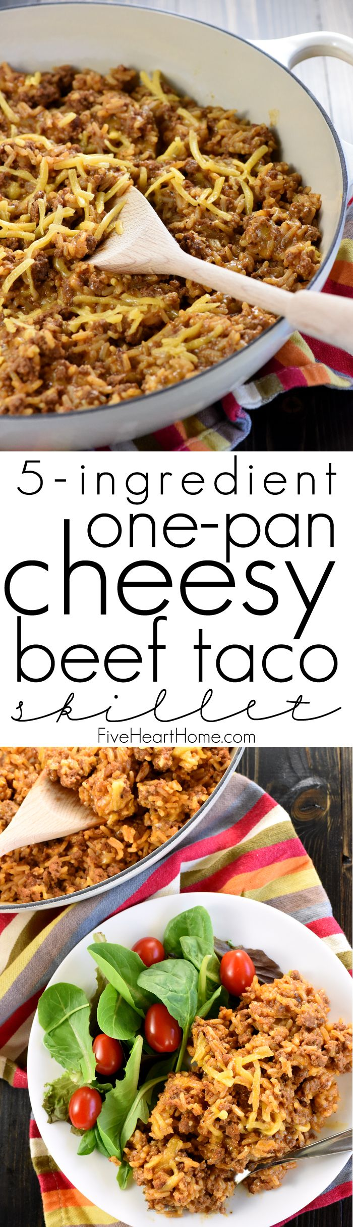 One pan cheesy beef taco skillet homemade hamburger helper a one pan cheesy beef taco skillet homemade hamburger helper a quick and forumfinder Image collections