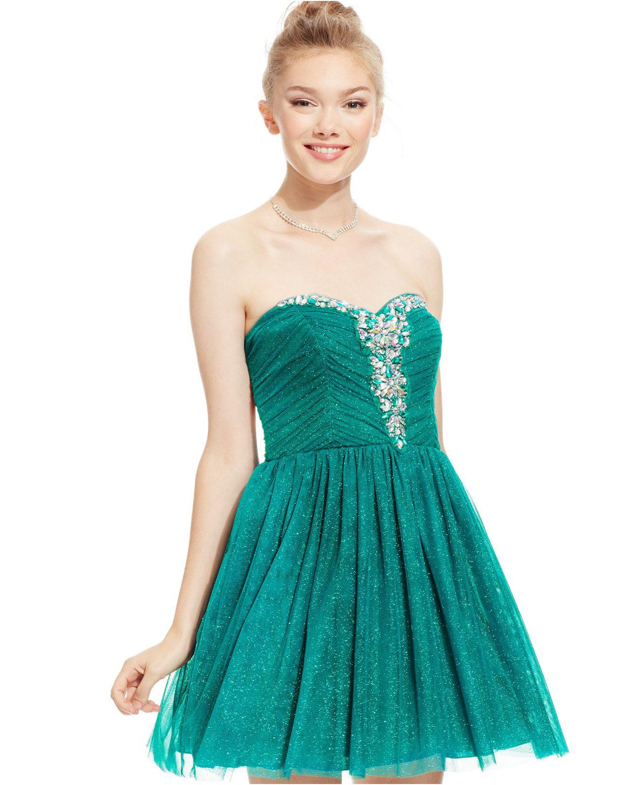 Luxury Party Junior Dresses Festooning - All Wedding Dresses ...