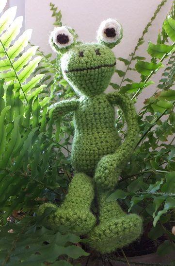 Kostenlose Häkelanleitung Frosch Amigurumi амигуруми Crochet