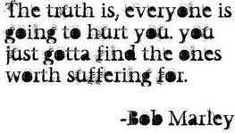 bob marley had a way with words. i love all of his quotes.