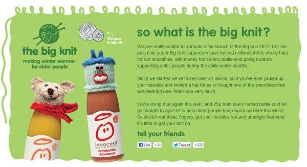 870d18bc2 Cogs Blog: We love the Big Knit 2012, which raises money to support ...