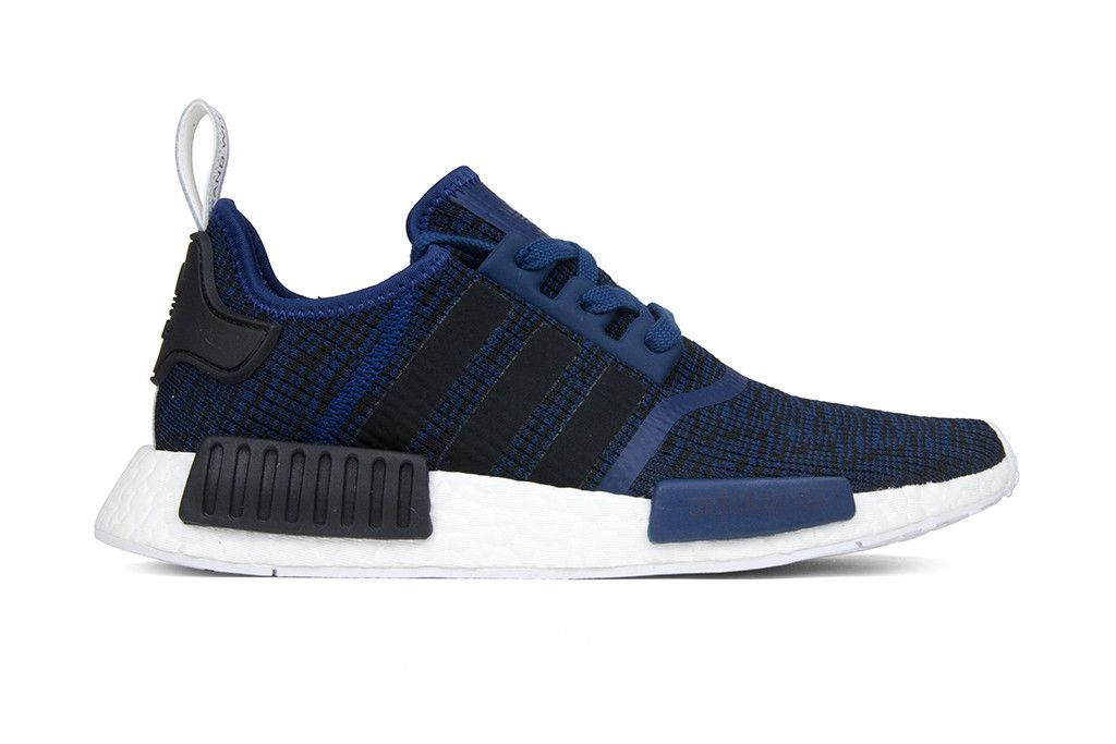 85d5ba50adf37 Adidas Originals NMD R1 - Mystery Blue Core Black Collegiate Navy ...