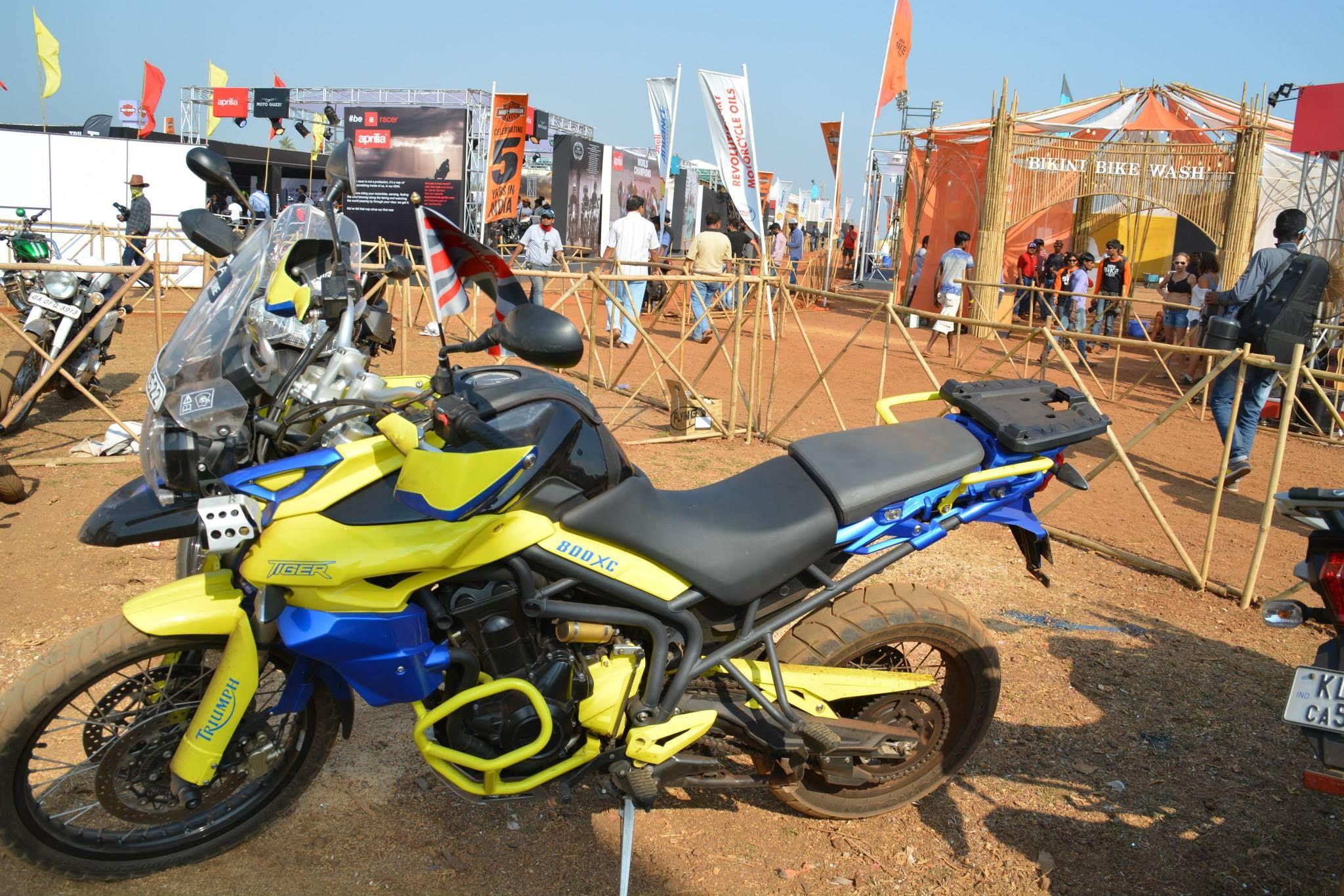 IBW'15 Bike week, Bike, Goa