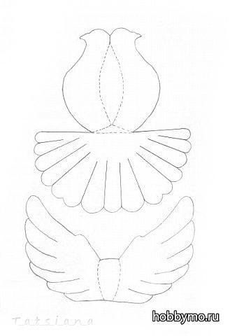 Голубь мира из бумаги своими руками на 9 мая шаблоны фото 127