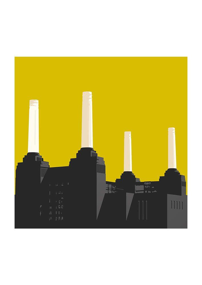 Battersea Power Station | Battersea power station, Buy prints online ...