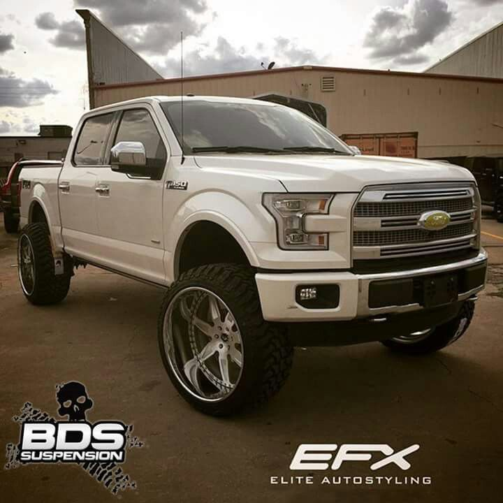 Elder Ford Of Tampa Home: 2015 Ford F150 Lifted On 26x14 Wheels With 37's!
