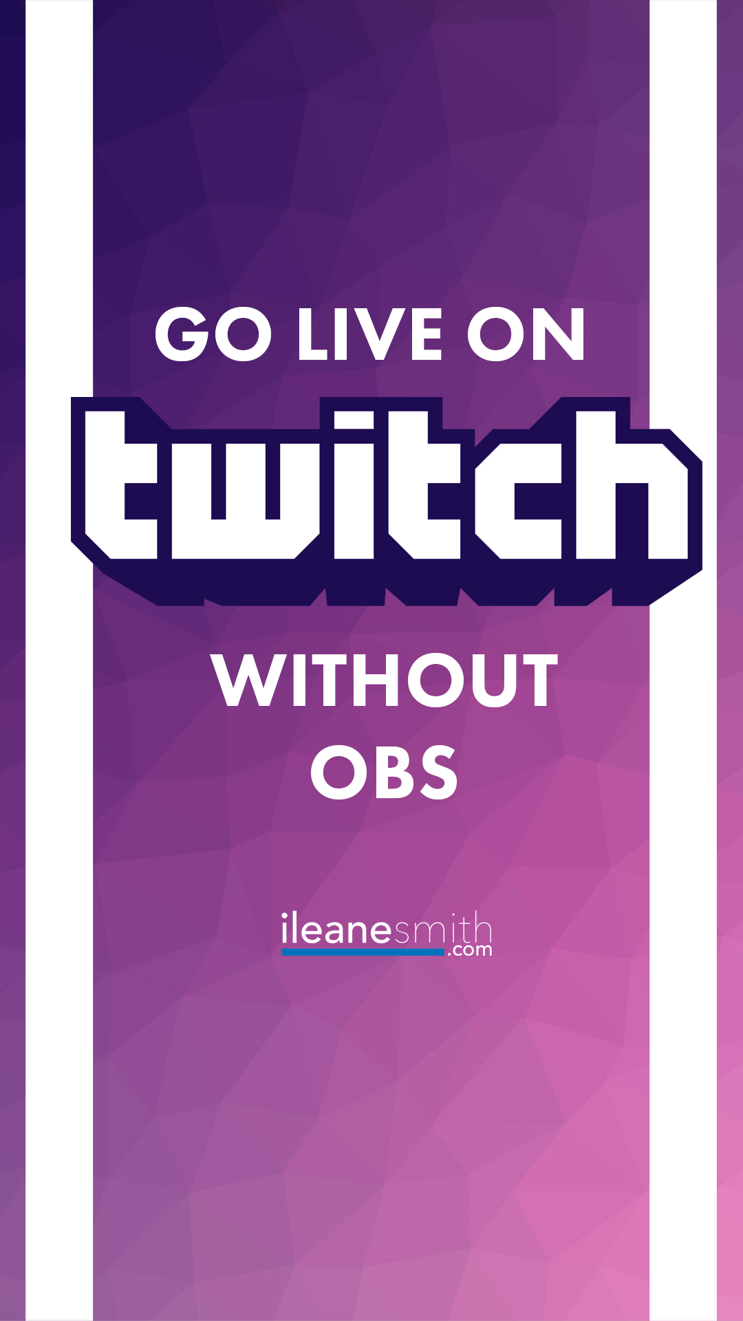 How To Live Stream On Twitch Without Using Obs Livestreaming Livestreamers Live Video Streaming Youtube Live Twitch