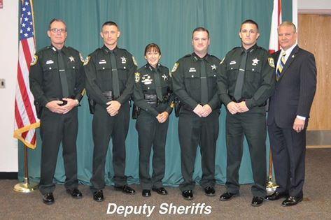 Five new deputy sheriffs joined the ranks of the Seminole County