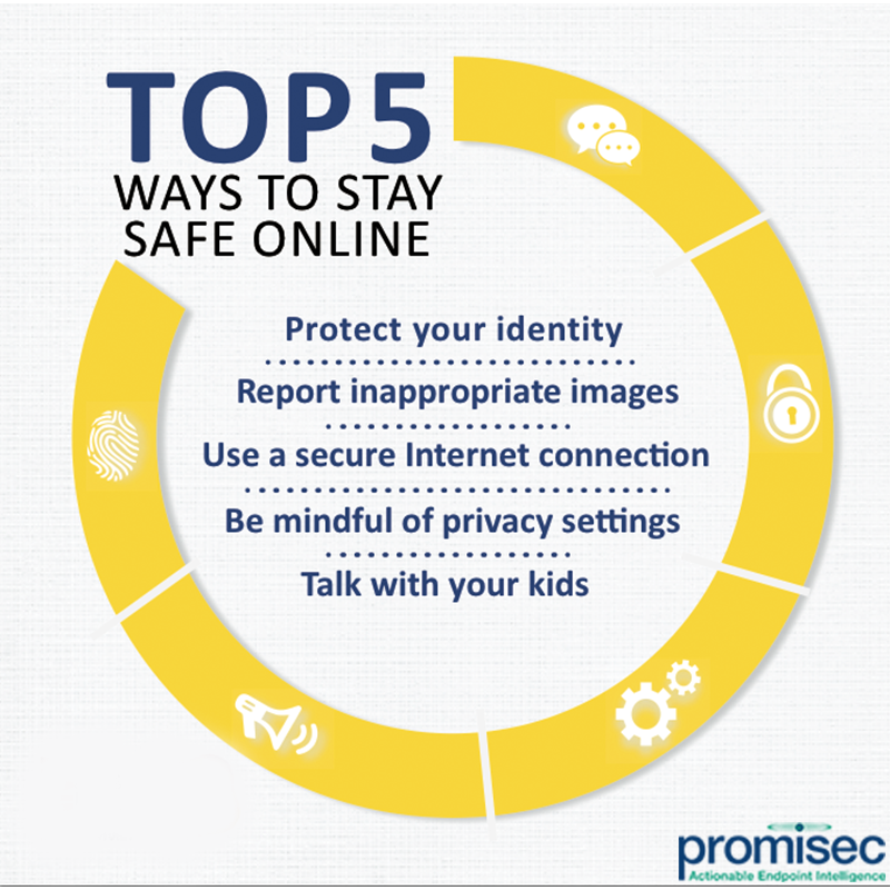 top 5 ways to stay safe online endpointmangement