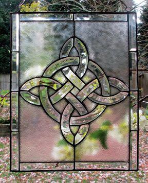 Home Decor Miscellany - Beveled Knot Window | Irish I Love ...