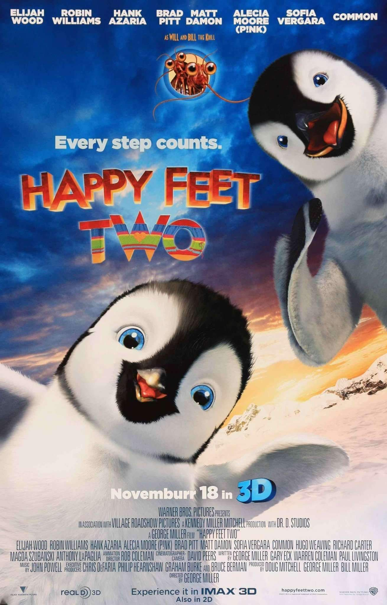 Happy Feet Two 2011 In 2021 Happy Feet Two Happy Feet Robin Williams Movies
