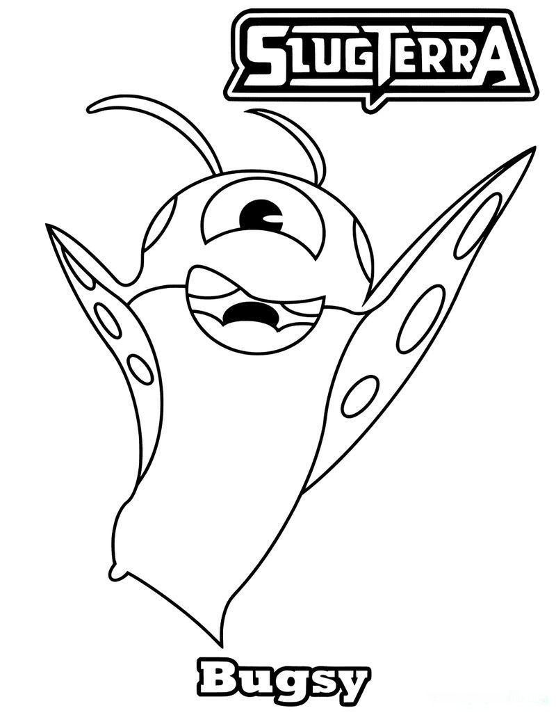 Slugterra Book Of Slugs In 2020 Cartoon Coloring Pages Printable Coloring Pages Coloring Pages