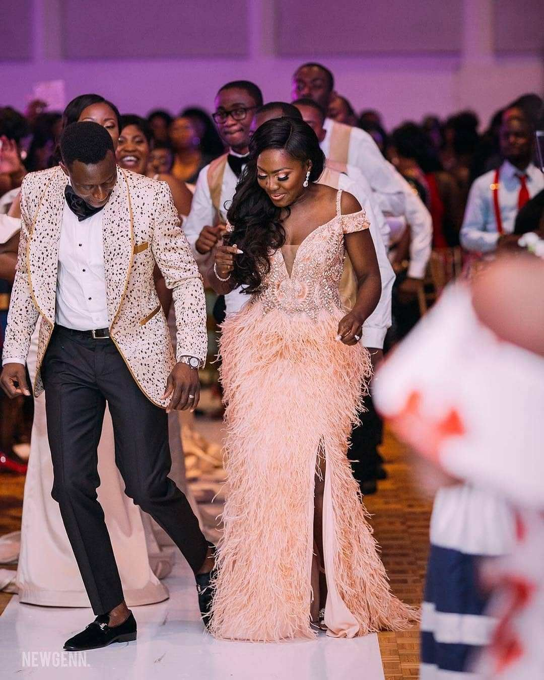 The Sweetest Wedding Reception Dresses Ever A Million Styles Wedding Reception Dress African Fashion Dresses Wedding Reception Gowns [ 1350 x 1080 Pixel ]