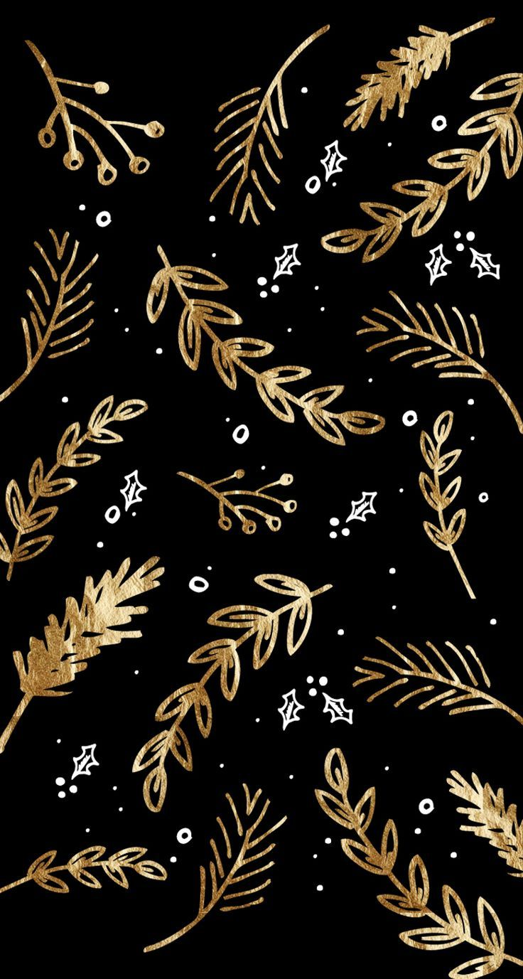Tap And Get The Free App Pattern Abstract Golden Black Nature