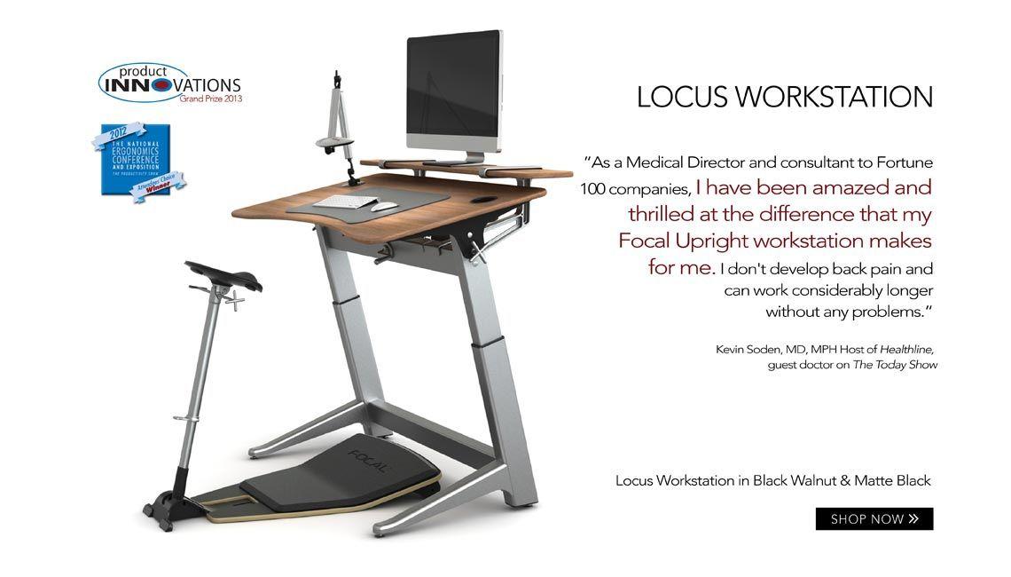 Prescription: Workplace Wellness. Focal Upright Furniture, The  Award Winning Adjustable Height Standing
