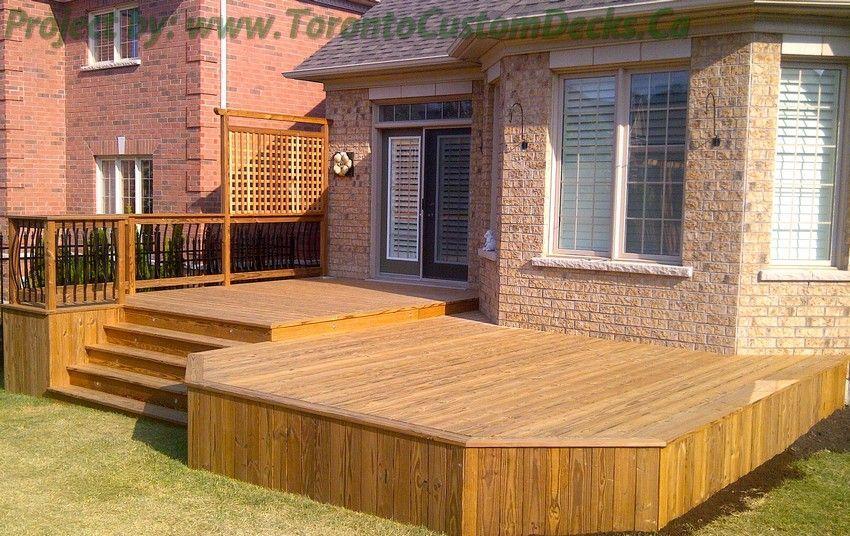 An open patio design #Deck design #custom deck #patio #Toronto