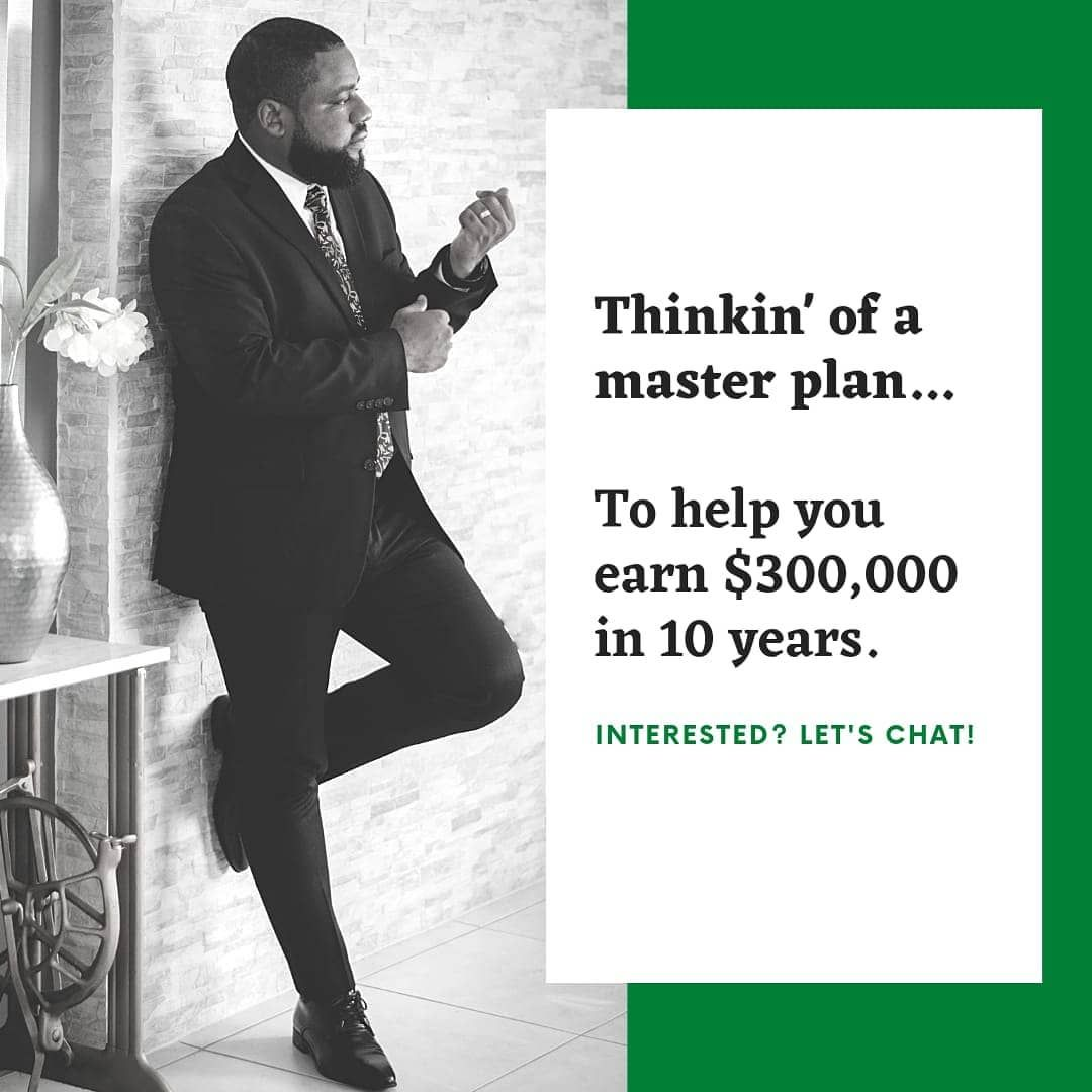 Imagine we met in 2010. It is now 2020 and you would have $300,000 in your bank account tax free. You will now be able to make a down paymnet on your dream house, take care of your children's education, purchase a new car or payoff all or most of your debts. Book an appointment or call today and let's chat about 2030............ #goals #insurance #financial #advice #planning #future #2020 #2030 #thinkfuture #thinkinsurance