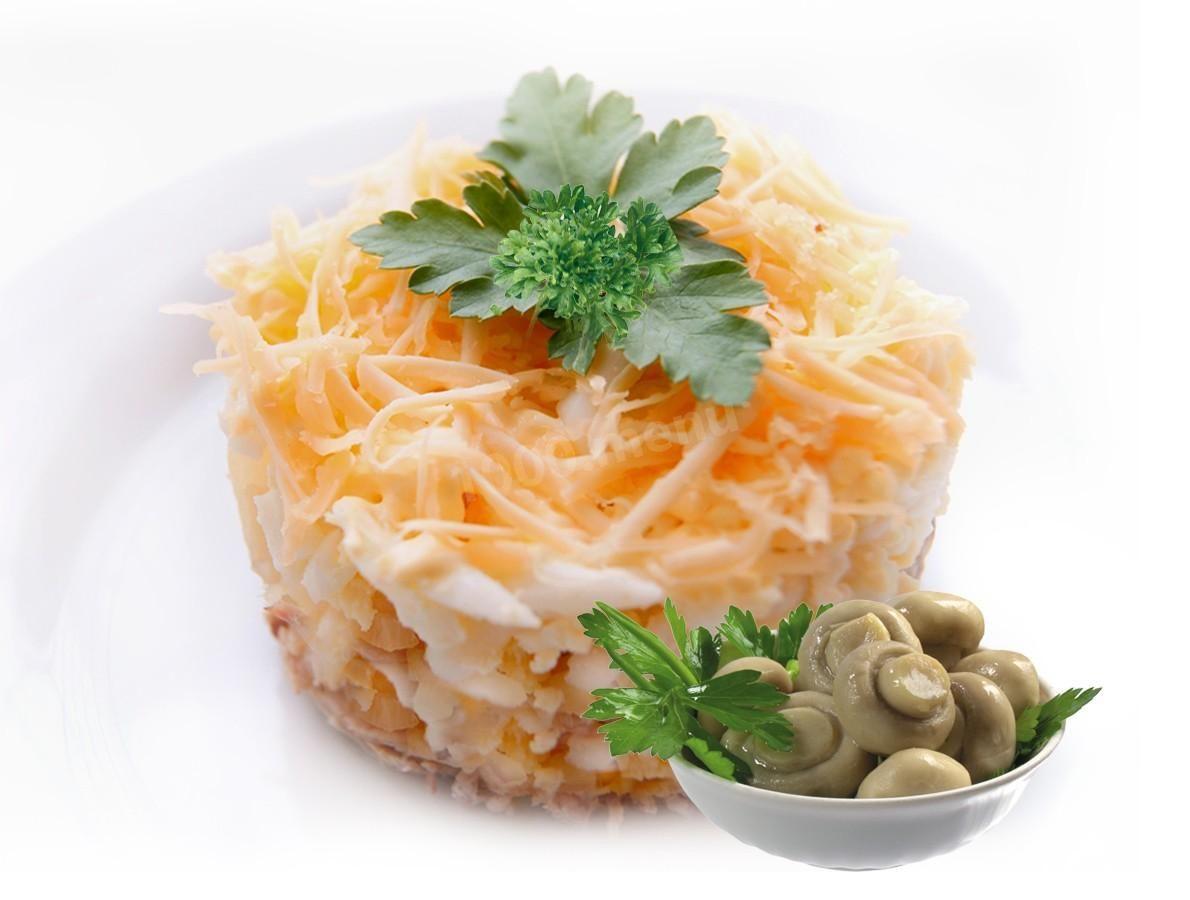 Салат царский рецепт с фото пошагово