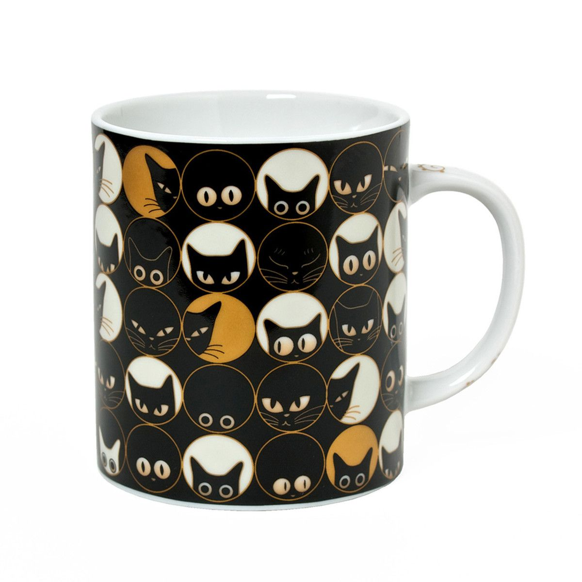 Cat Eye Mug - for the cat lover in your family.