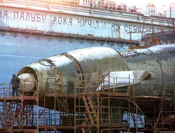 Russian Navy B-871 Alrosa is the only Kilo-class sub that