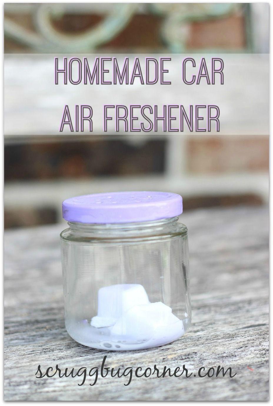 How to make wax car air fresheners Car air freshener and