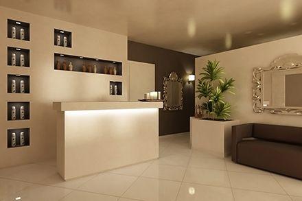 Arredamento centro estetico arredamento pinterest for Resort termali in cabina