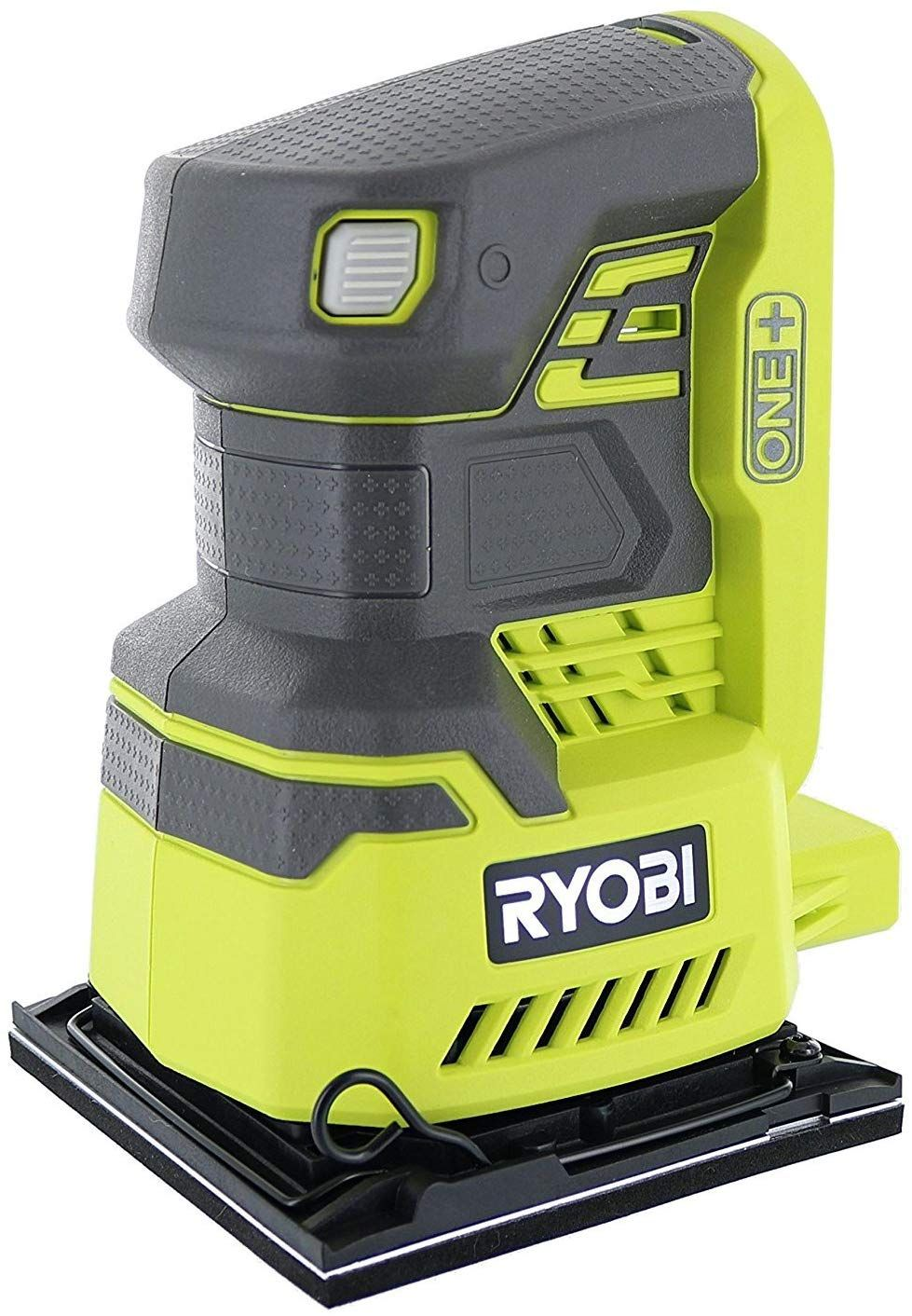 Ryobi P440 One 18v Lithium Ion 12 000 Rpm 1 4 Sheet Palm Sander W Onboard Dust Bag And Included Sanding Pads Battery Not Included Power Tool Only Sheet Sander Best Random