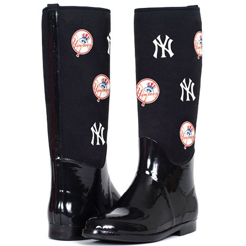 New York Yankees Enthusiast Rain Boot by Cuce Shoes - I. NEED ...