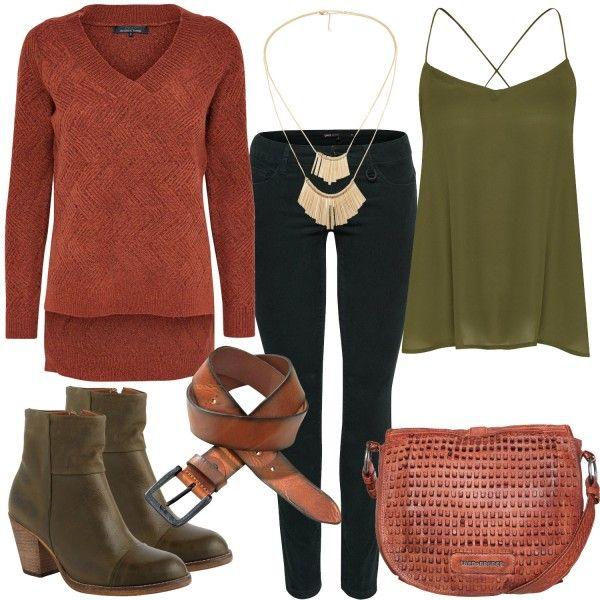 herbsttyp outfit freizeit outfits bei herbst farben reich pure true warm. Black Bedroom Furniture Sets. Home Design Ideas