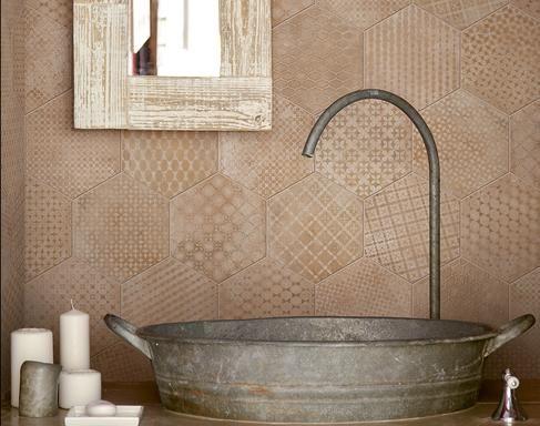 Carrelage salle de bain - Marazzi 7373 Sol salle de bain Pinterest - prix carrelage salle de bain