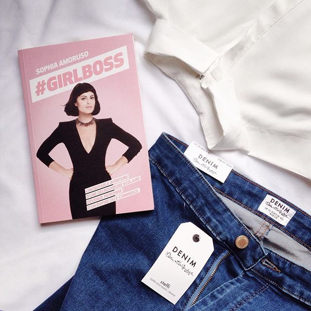 SamBdl snapped a gorgeous flatlay of some inspirational reads and amazing Miss Selfridge denim.