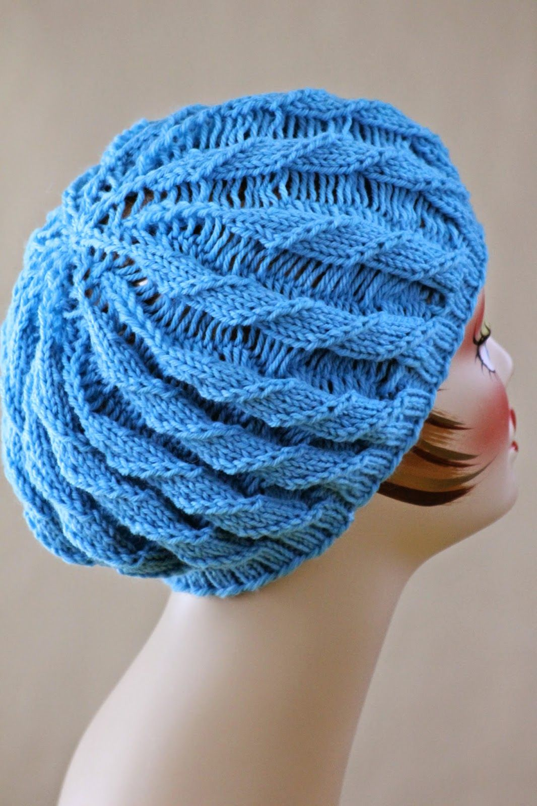 01257e50c29 Balls to the Walls Knits  Twilled Stripe Hat. Size 5 and 7 16
