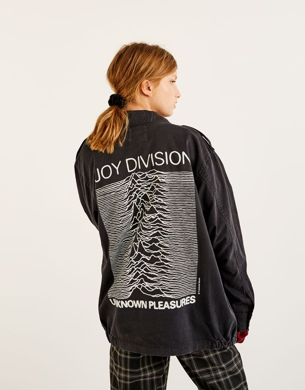 290b2cc54b135 Joy Division jacket - Coats and jackets - Clothing - Woman - PULL BEAR  Latvia