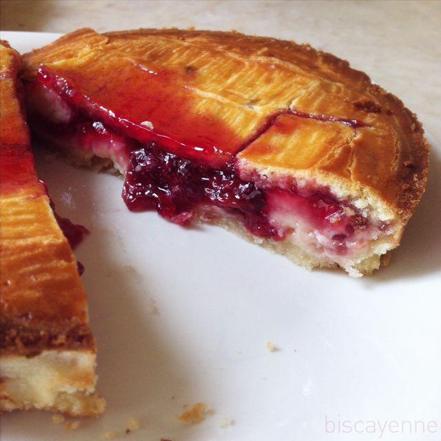Biscayenne: para golosos irredentos: Pastel vasco, alias gâteau basque, euskal pastela