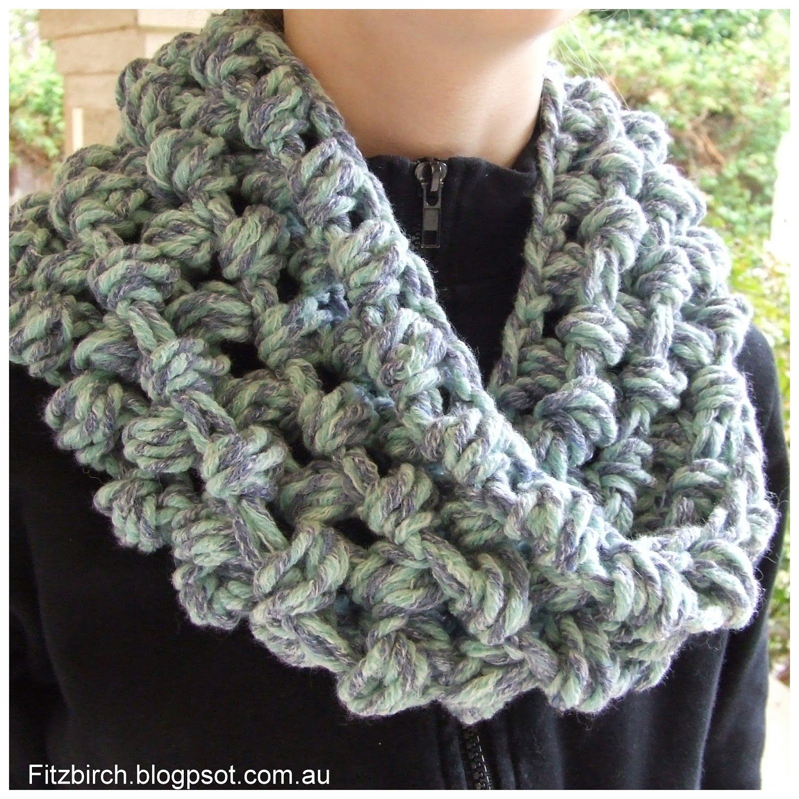 FitzBirch Crafts: Cluster Crochet Cowl | DiY! | Pinterest