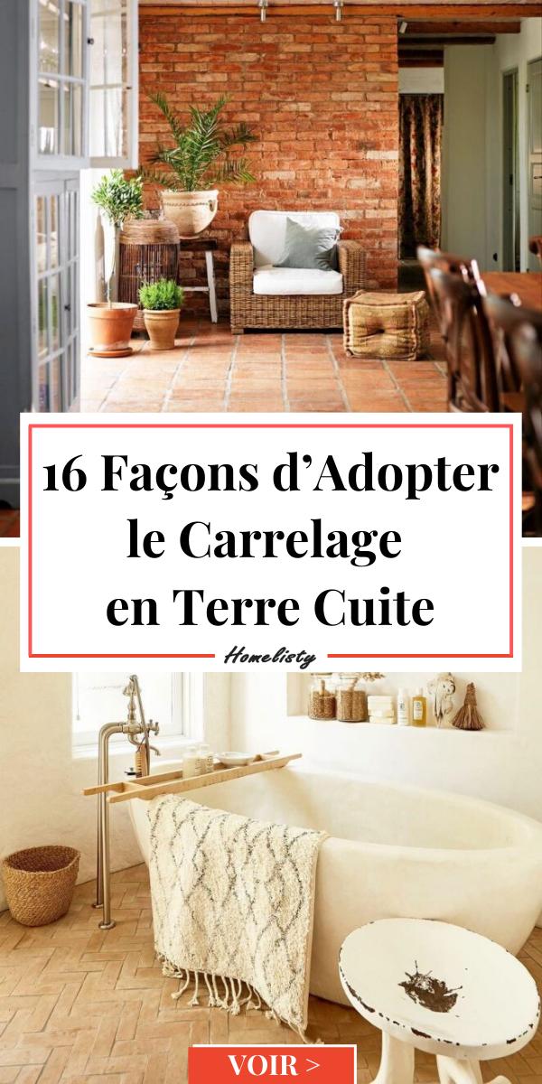 Carrelage En Terre Cuite 16 Facons De L Adopter Chez Soi