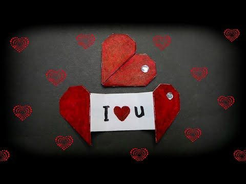 Photo of How to make origami heart with message ❤ DIY Valentine's card ❤ Gift idea for Valentine's day